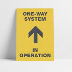 One way Posters